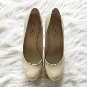 Marc Fisher Nude Rounded Pumps